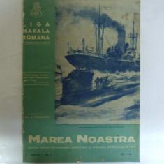 Marea Noastra Revista ligii navale romane Anul IX Nr. 5 Mai 1940