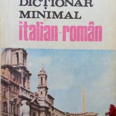 DICTIONAR MINIMAL ITALIAN - ROMAN - Ion Neata - Curs Limba Italiana