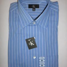 Camasa originala Calvin Klein - barbati M -100% AUTENTIC, Maneca lunga, Albastru