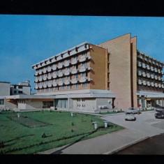 Tg Jiu - Hotel Gorjul - Intreg postal - Circulat anii '70