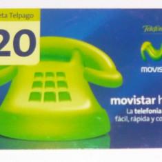 Cartela telefonica - TELEFON FIX VERDE - VENEZUELA - 2+1 gratis toate produsele la pret fix - CHA988 - Cartela telefonica straina