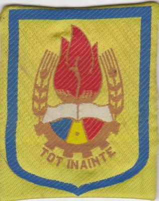 Emblema ,  Pionieri - Tot Inainte (se poate prinde de costum cu 2 ace) foto