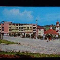 Cehul Silvaniei - Vedere din centru - Intreg postal - Circulat anii '70