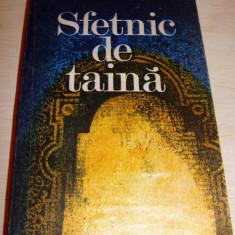 SFETNIC DE TAINA - Stefan Popescu - Roman, Anul publicarii: 1985