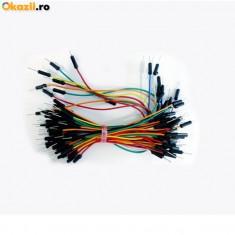 Cabluri de test tata-tata pentru breadboard 65 buc