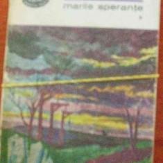 MARILE SPERANTE DE DICKENS, VOL 1, COLECTIA BPT1969 - Roman