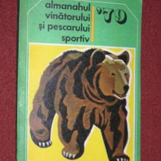 Almanahul vanatorului pescarului sportiv - an 1979 - Carte sport