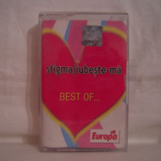 Vand caseta audio Stigma-Iubeste-ma,Best Of,originala