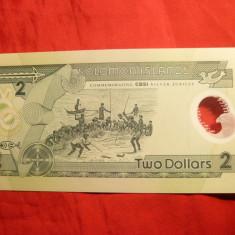 Bancnota 2 Dolari Solomon Island- Silver Jubilee, cal.NC
