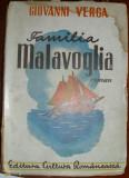 Verga, G. - FAMILIA MALAVOGLIA, ed. Cultura Romaneasca
