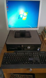 "Dell Optiplex 755 cu monitor LCD 17"" Intel Core 2 Duo 2GB RAM 80GB HDD"