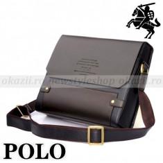 POLO  -  Geanta din piele pentru laptop