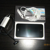 iPhone 4 Apple 16gb black in stare foarte buna, Negru, Orange