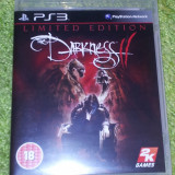 Darkness 2 Limited Edition  - PS3 - TRANSPORT GRATUIT IN RO, Actiune, 18+