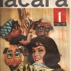 (C4595) REVISTA FLACARA, ANUL XV, NR. 1 (553), 1 ianuarie 1966