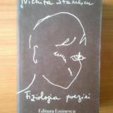 E3 Nichita Stanescu - Fiziologia poeziei - Roman, Anul publicarii: 1990