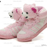 Adidas Jeremy Scott Teddy Bear pink.