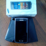 Smartphone Samsung Wave 3+husă protecție spate+husă protecție spate și față - Telefon mobil Samsung S8600 Wave 3