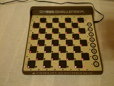 SAH ELECTRONIC LED CHESS CHALLENGER 8 MADE IN USA MIAMI FLORIDA 1980 NELSON SKU foto