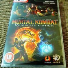 Joc Mortal Kombat Komplete Edition, PC, original, sigilat! - Jocuri PC Altele, Actiune, 18+, Multiplayer