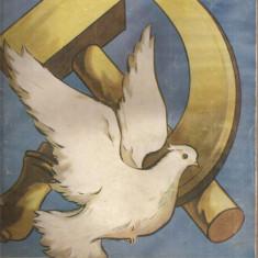 (C4575) REVISTA FEMME SOVIETIQUE ( FEMEIA SOVIETICA ), NR.5 MAI 1956, SUPLIMENT TIPARE DE CROITORIE, TEXT IN LIMBA FRANCEZA - Revista femei
