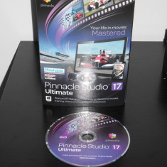 Pinnacle Studio 17 Ultimate Collection ( Original Box Retail ) - Software Editare video, Windows 7, DVD, Numar licente: 1