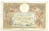 FRANTA BANCNOTA 100 FRANCI 03.11.1938  STARE BUNA SPRE FOARTE BUNA