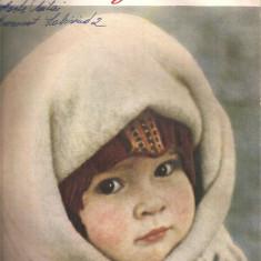 (C4571) REVISTA FEMME DE NOS JOURS ( FEMEIA ZILELOR NOASTRE ), NR. 2, 1961, TEXT IN LIMBA FRANCEZA, SUPLIMENT CU TIPARE DE CROITORIE