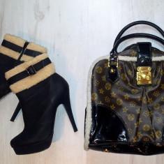 Geanta replica LV - LOUIS VUITTON cu blanita. - Geanta Dama Louis Vuitton, Geanta de umar, Multicolor