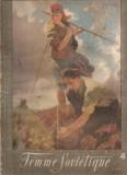 (C4563) REVISTA FEMME SOVIETIQUE ( FEMEIA SOVIETICA ), NR. 4, APRILIE, 1955, TEXT IN LIMBA FRANCEZA, SUPLIMENT TIPARE DE CROITORIE