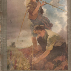(C4563) REVISTA FEMME SOVIETIQUE ( FEMEIA SOVIETICA ), NR. 4, APRILIE, 1955, TEXT IN LIMBA FRANCEZA, SUPLIMENT TIPARE DE CROITORIE - Revista femei