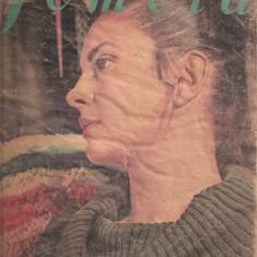 (C4580) REVISTA FEMEIA, NR.4 APRILIE 1972