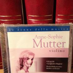 ANNE-SOPHIE MUTTER & WIENER PHILHARMONIKER/VIVALDI (1984/EMI REC) cd nou/sigilat - Muzica Clasica emi records