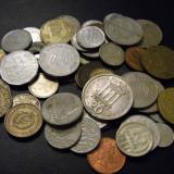 Lot 50 monede straine din toata lumea, Europa