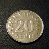 Estonia 20 senti 1999 XF