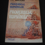 I. C. HINTESCU - PROVERBELE ROMANILOR {1985}