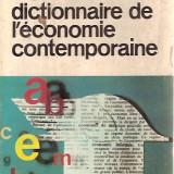 Dictionnaire de l'economie contemporaine-Fernand Baudhuin, b 1