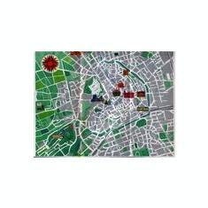 harta oraşului Erfurt