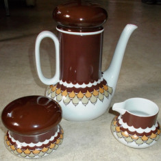 Set / Serviciu - ceai /cafea  - portelan Bavaria - Thomas (Rosenthal) - 1970