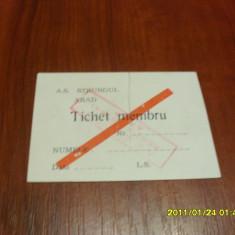 Abonament Strungul Arad - Bilet meci
