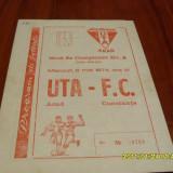 Program   UTA  -  F.C.   Constanta
