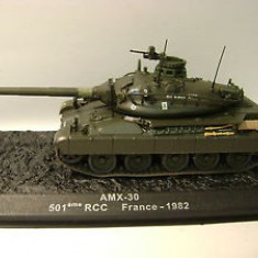 1525.Macheta tanc AMX - 30 France - 1982 scara 1:72
