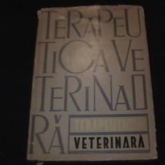 TERAPEUTICA VETERINARA-I. MARINESCU-381 PG -A4-, Alta editura