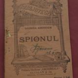 Carte - Biblioteca pentru toti - Leonida Andreiew - Spionul - 90 pagini - Carte veche