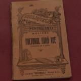 Carte --- Biblioteca pentru toti -- Moliere - Doctor fara voie - comedie in 3 acte - 96 pagini - Carte veche