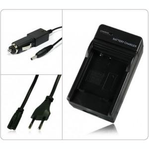 Incarcator acumulator Panasonic CGA-S008E S008   DMW-BCE10E + adaptor auto (12V) pentru Lumix DMC-FX30 FX33 FX35 FX37 FX55 FX500 FS3 FS5 FS20