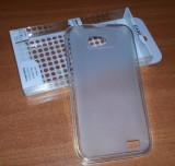 Husa TRANSPARENTA Silicon Gel TPU ALLVIEW P5 Alldro + Folie protectie Display CADOU