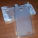 Husa TRANSPARENTA Silicon Gel TPU ALLVIEW P5 Alldro + Folie protectie Display CADOU - Husa Telefon