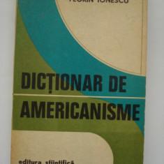 DICTIONAR DE AMERICANISME - Florin Ionescu