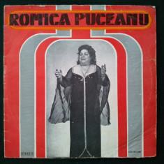 ROMICA PUCEANU - Orchestra Ion Albesteanu - Muzica Lautareasca electrecord, VINIL